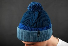 Billabong Stray Beanie Blue Bommelm�tze